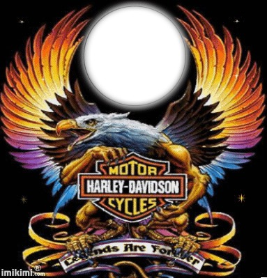 Photo Montage Moto Harley Pixiz