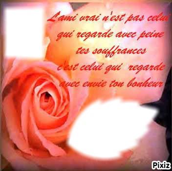Montaje Fotografico Poeme Amitie Pixiz