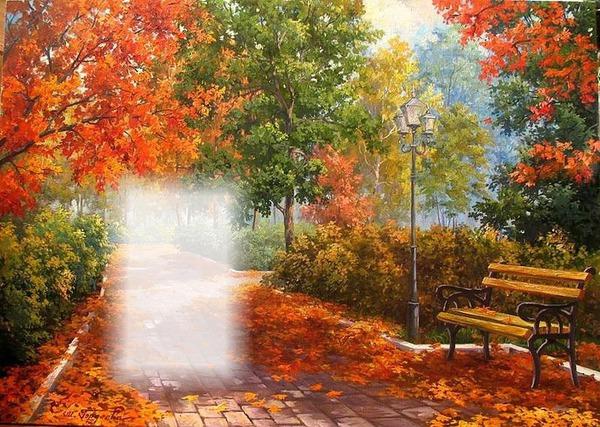 montage photo paysage d 39 automne pixiz. Black Bedroom Furniture Sets. Home Design Ideas