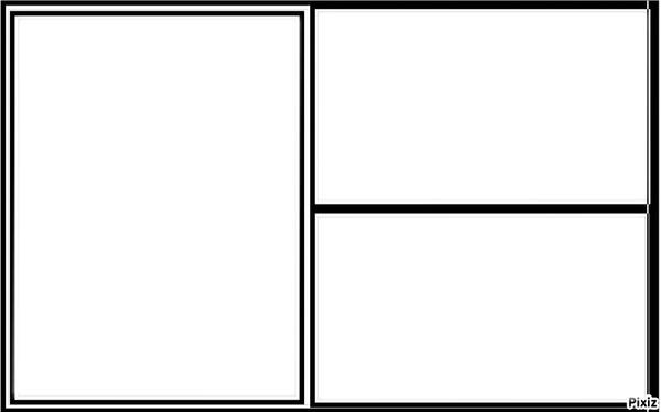 montage photo cadre 3 fen 234 tres pixiz