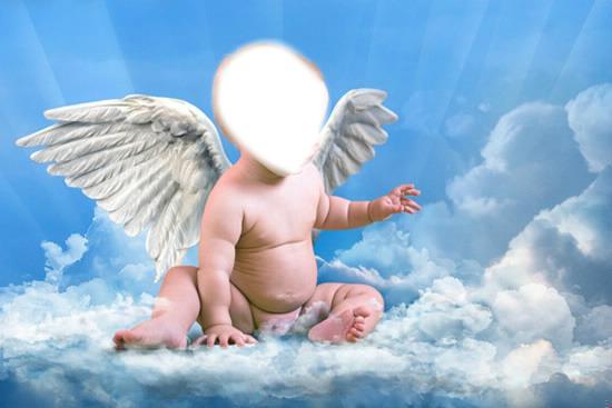 фото детская ангел