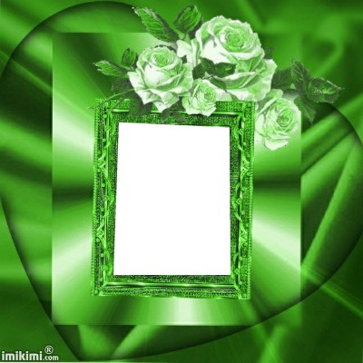 photo montage rose verte pixiz pixiz