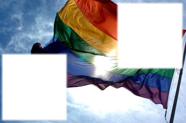 montage photo gay flag pixiz. Black Bedroom Furniture Sets. Home Design Ideas