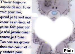 фотомонтаж Mon Amour Pixiz