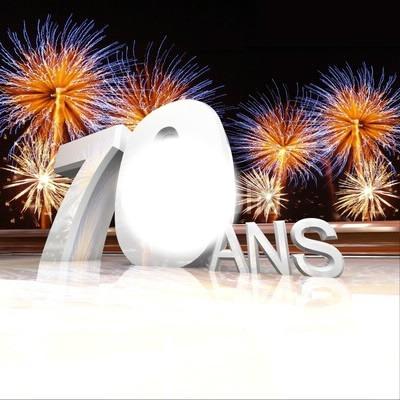 soixante dix ans anniversaire