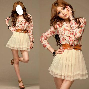 Модные платья на худеньких
