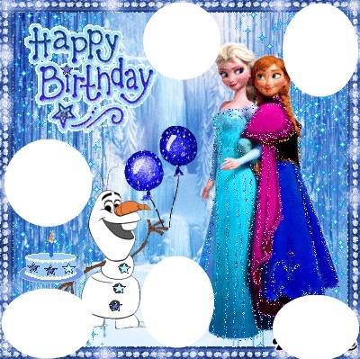 bon anniversaire reine des neiges