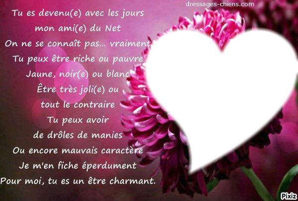 Montaje Fotografico Texte D Amours Pixiz