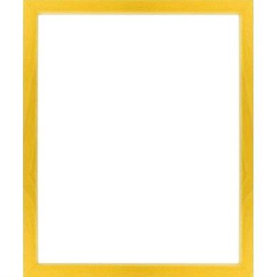 montage photo cadre bois jaune pixiz. Black Bedroom Furniture Sets. Home Design Ideas