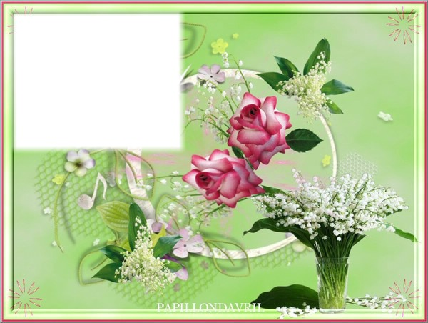 Montage photo bouquet de muguet pixiz - Bouquet de muguet photo ...