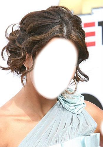 Вечерние причёски для волос средней длины фото7