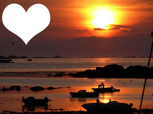 Montage photo bonne nuit pixiz - Heure de lever et de coucher du soleil ...