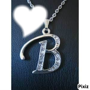 Photo montage lettre B - Pixiz