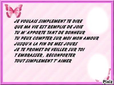 Montaje Fotografico Poeme D Amour Pixiz