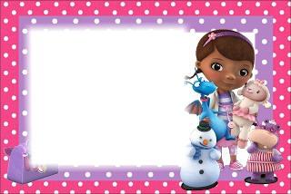 Montaje fotografico niñas Doctora juguetes - Pixiz