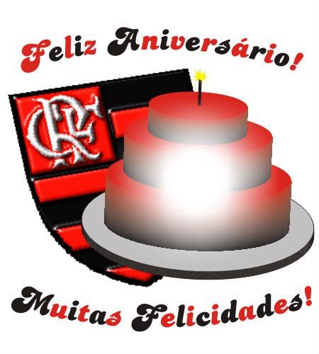 Fotomontagem Feliz Aniversário do Flamengo - Pixiz