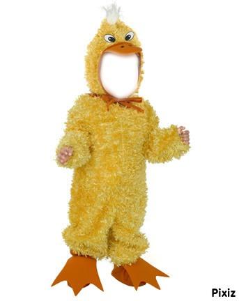 Как сшить костюм цыпленка для девочки своими руками