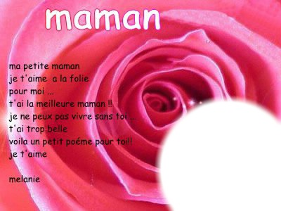 Montaje Fotografico Ma Petite Maman Pixiz