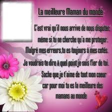 Montaje Fotografico Poeme Pour Maman Pixiz