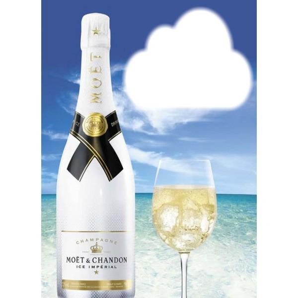 Exceptionnel Photo montage anniversaire champagne - Pixiz OG24