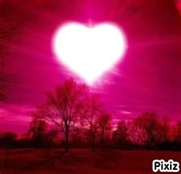 Fotomontage Mon Beau Coeur Dit Moi Qui Est Amoureux Pixiz