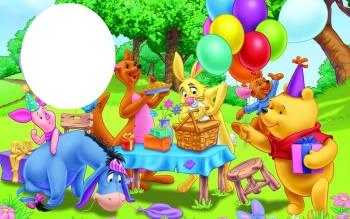 animation anniversaire winnie