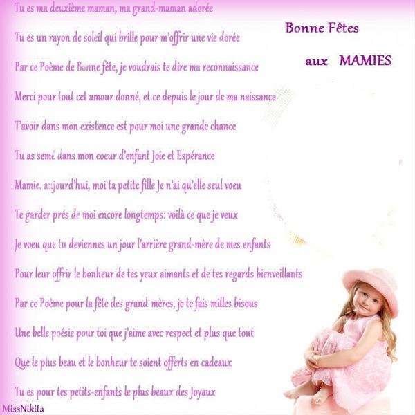 Fotomontage Bonne Fête Mamie Pixiz