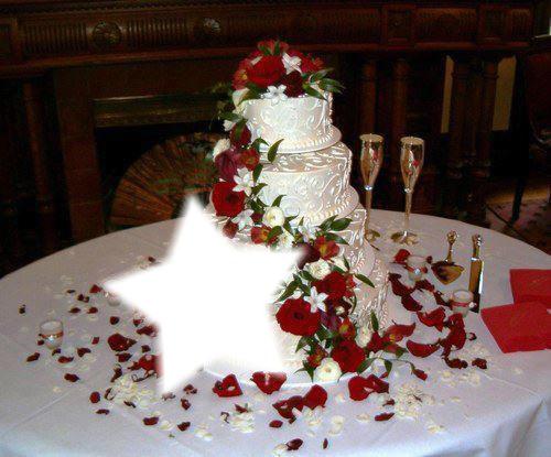 Украсить торт для свадьбы