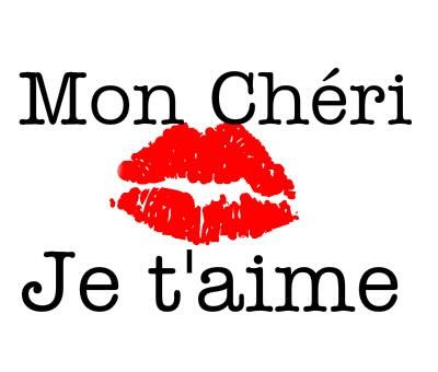 Photo montage mon cheri je t 39 aime pixiz - Lettre saint valentin pour son cheri ...