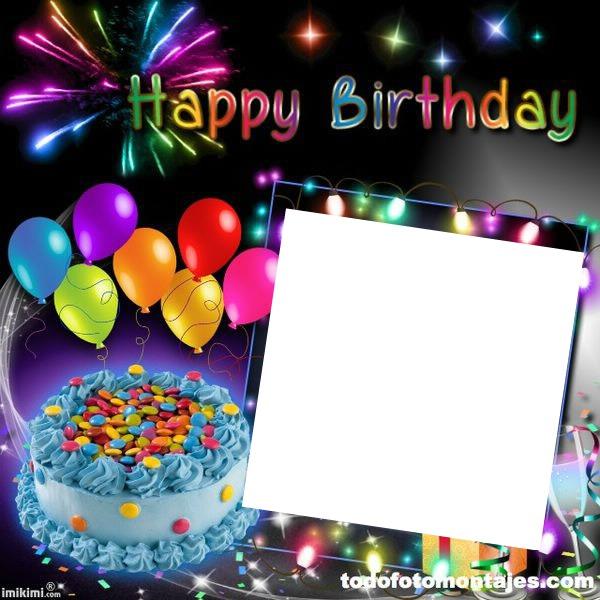 Photo Montage Happy Birthday To You Pixiz