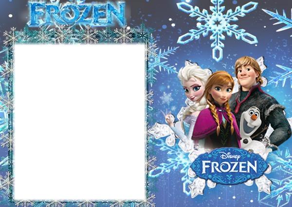 Photo montage Frozen- Marco (1 FOTO) - Pixiz