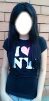 Фото красивых девушек одинаковых с черными волосами