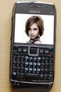 Nokia Smartphone Mobiltelefonscen