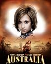 Elokuvan juliste Australia Nicole Kidman Hugh Jackman