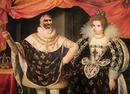 Couple royal Monarques Visage