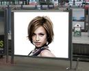 Billboard Plagát scény