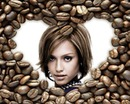 Heart Coffee beans ♥