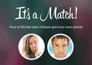 It's a Match! Tinder mockery with customizable text