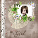 Album Cover Girl Glamour Cvijeće