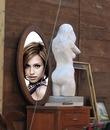 Scène Miroir Statue