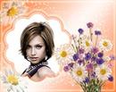 Bouquet de fleurs Marguerites Oeillets