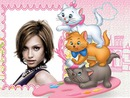 Kind onder Disney Aristocats