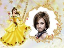 Girl frame The beauty and the beast Disney