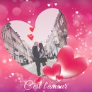vaaleanpunainen sydän