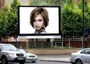 Sahne reklam afişi