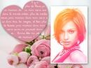 Motinos dienos gėlių puokštė ir eilėraštis