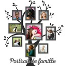Family tree with 9 pictures