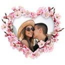 Corazón florido