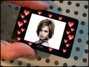"""Mini Digital Frame Frame Hearts"""
