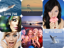 8 fotografií so zaoblenými hranami